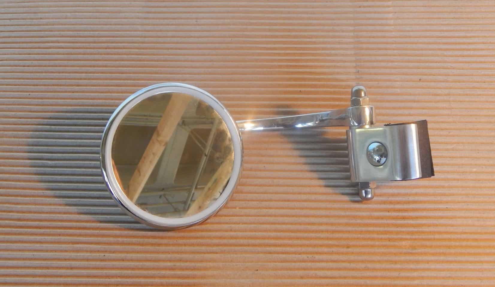 Halcyon Scooter Mirror Round Lt