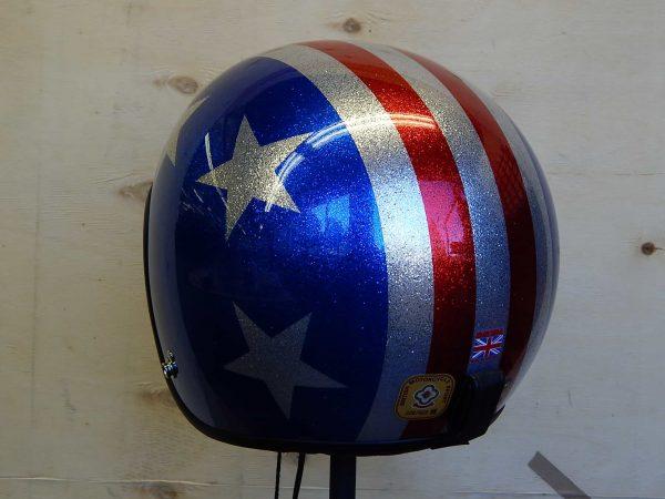 alt=Davida Jet Helmet - 3 Star Metal Flake2