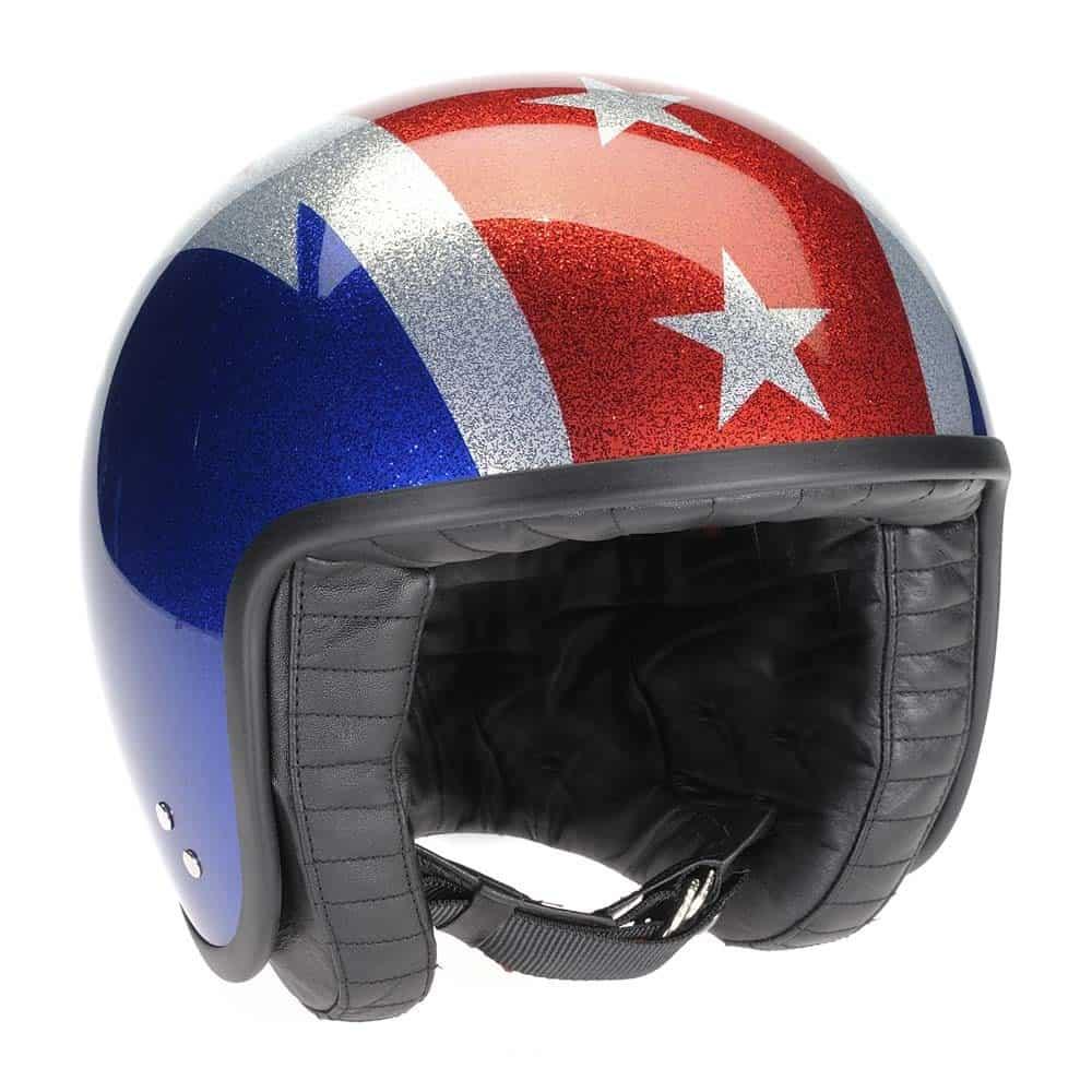 Davida Jet Helmet – Thunderbolt Metal Flake
