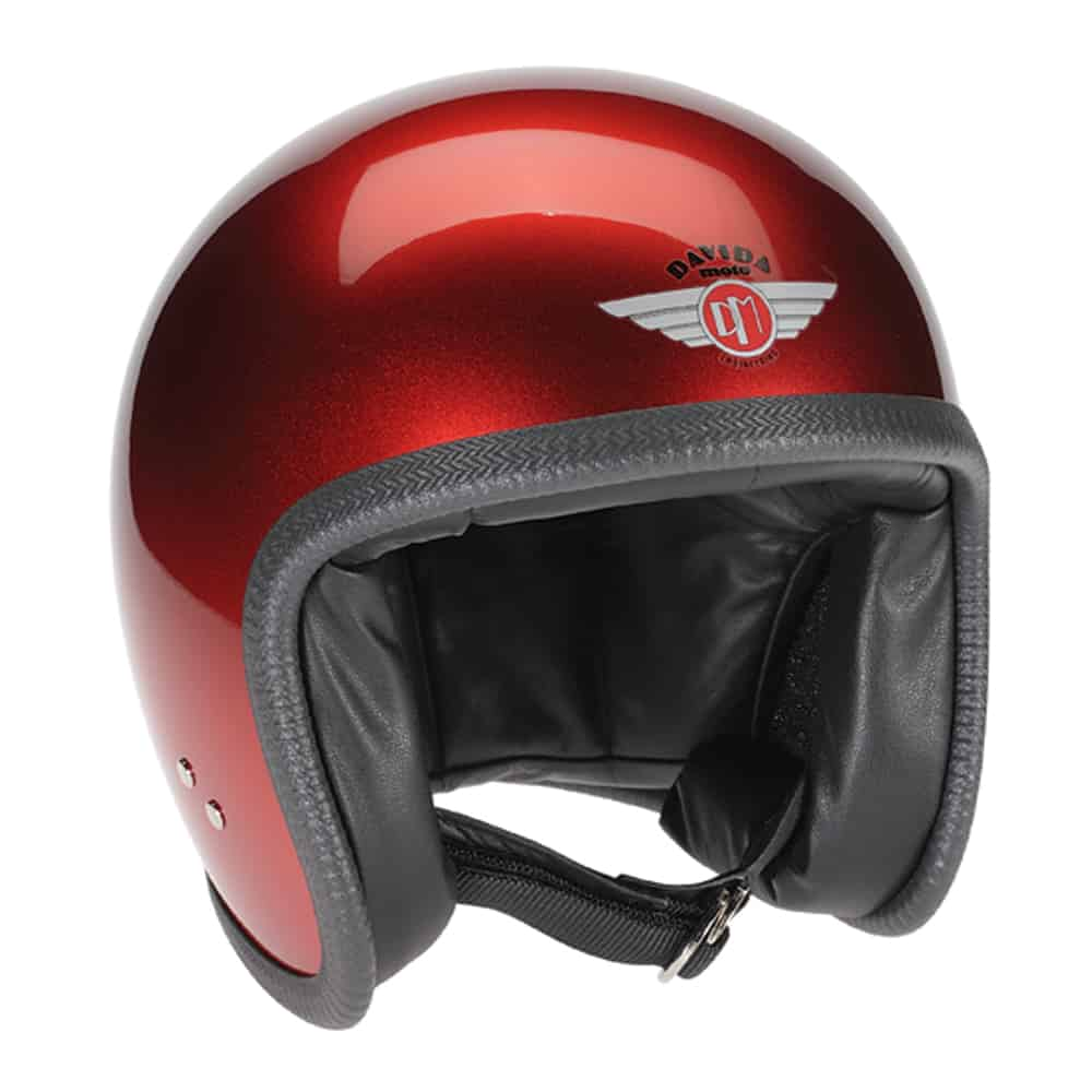 Davida Speedsterv3 Helmet - Cosmic Candy Red