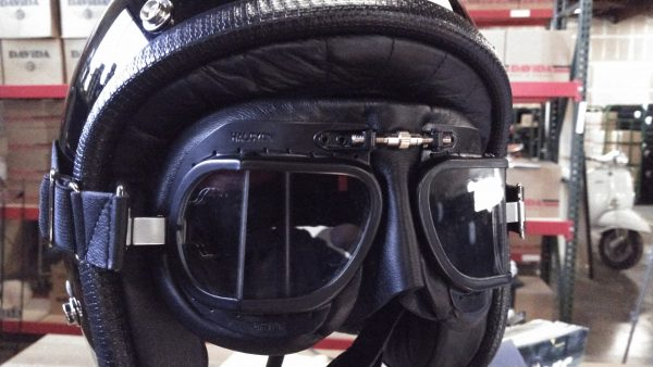 Halcyon Mark 49 Race goggle Black NICE!